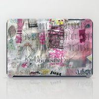 The Soul Of A Journey  iPad Case