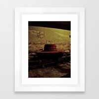 The Underground Framed Art Print
