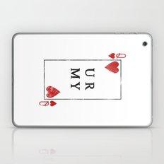 UR QUEEN OF MY HEART Laptop & iPad Skin