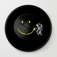 Make a Smile Wall Clock