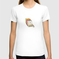 Macintosh Cascade Womens Fitted Tee White SMALL