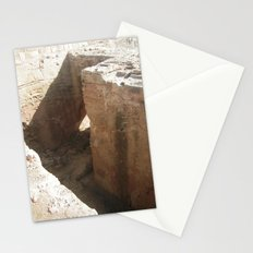 Rock and a hard place #1 Stationery Cards