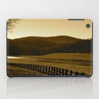 Down The Golden Loop iPad Case