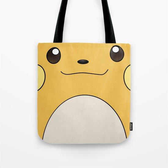 Raichu - Pikachu's evolution. Pokemon Poster Tote Bag