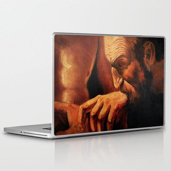 Incredulity of Thomas Laptop & iPad Skin