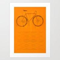 bike Art Prints featuring BIKE by TMSYO