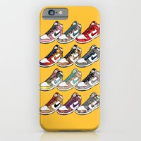 iPhone & iPod Case featuring Them Dunks by Joseph Rey Velasquez