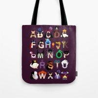 Evil-phabet Tote Bag
