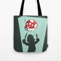 Oh no! It's Mario! Tote Bag
