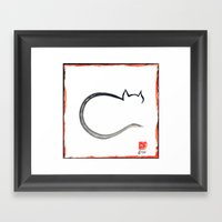Cat 2015 Framed Art Print