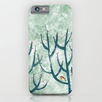 Cold Hedgerow iPhone 6 Slim Case