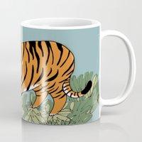 Tiger tiger burning bright Mug