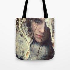 Coyote Girl Tote Bag