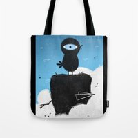 Black Chicken Tote Bag