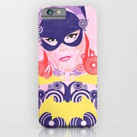 iPhone Cases featuring Batgirl 60 by Joshua A. Biron