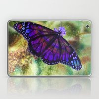 Butterfly in the Rain Laptop & iPad Skin