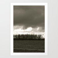 Latter Rains Art Print