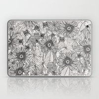 pencil flowers Laptop & iPad Skin