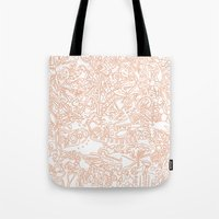 These Lines [We Draw] Tote Bag