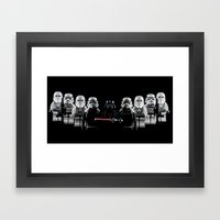 Forces of the Empire Framed Art Print