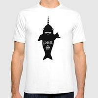GNARWHAL Mens Fitted Tee White SMALL