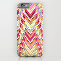 iPhone & iPod Case featuring Technicolor Southwest Chevron by Joan McLemore