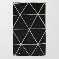 Rug featuring Geodesic by Terry Fan