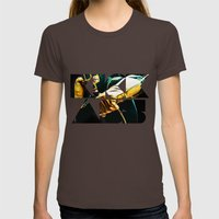 Dave Lizewski Womens Fitted Tee Brown SMALL