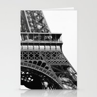 Eiffel BW No.2 Stationery Cards
