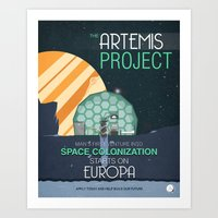 The Artemis Project Art Print