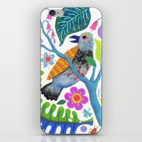 Bird Botanical iPhone & iPod Skin