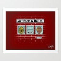 Artifacts & Relics Art Print
