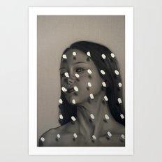Kinetic Brink Art Print
