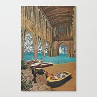 Place Of Worship (with D… Canvas Print