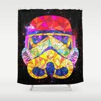 SpaceStorm Shower Curtain