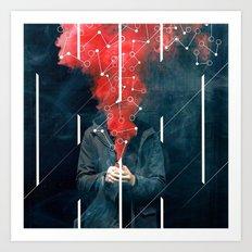 Chemical Distortion Art Print