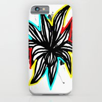 iPhone & iPod Case featuring Flower by akamundo