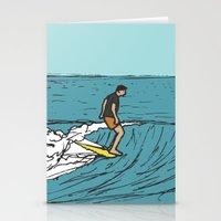 Surf Series   Slipnslide Stationery Cards