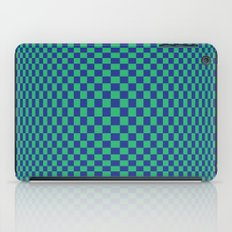 Green and Blue - Geometric game iPad Case