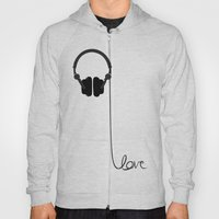 for the love of music Hoody