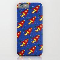 Space Rocket Pattern iPhone 6 Slim Case