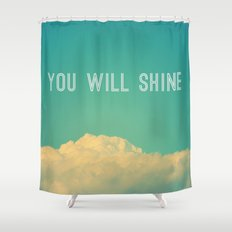 Baby, you will shine! Shower Curtain