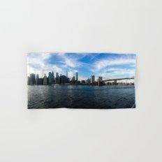 New York Skyline - Color Hand & Bath Towel