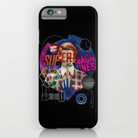 iPhone & iPod Case featuring Super Machines by Tom Burns