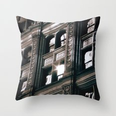 Flare Revisited Throw Pillow
