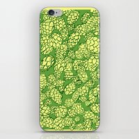 Floral Hops iPhone & iPod Skin