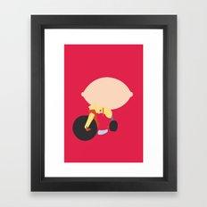 Family Guy - Stewie Griffin Framed Art Print