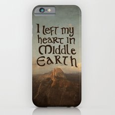 I Left My Heart in Middle Earth Slim Case iPhone 6s
