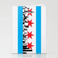 New Chicago Flag Stationery Cards