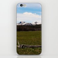 mountains. iPhone & iPod Skin